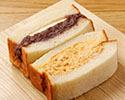「ミックスサンドイッチ」(小倉バター+奥久慈卵)※11時以降の受取り