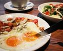 【朝食】店内テーブル