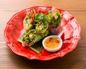 蒸し鶏と彩り野菜の生春巻〜ゴイクン〜