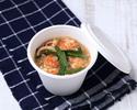 【テイクアウト】魚介の酸辣湯(春雨入りスープ)