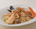 [Take out] Seafood pilaf, advance payment discount