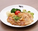 【テイクアウト】沖縄やんばる豚のジンジャーソテー(ライス&スープ付き)