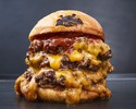 【TAKEOUT】トリプルチーズバーガー Triple Cheeseburger
