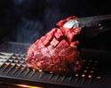 【オープン記念】★金土限定★牛ハラミ塊肉の焼肉海鮮コース【2時間飲み放題付】