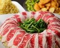 【オープン記念】★日木限定★たっぷり野菜と牛肉のヘルシー炊き肉コース【2時間飲み放題付】