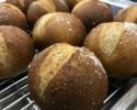 【テイクアウト】自家製ライ麦パン ¥150