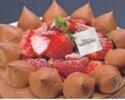 【デリバリー】4号(12cm)チョコレートショートケーキ ¥3,240(税込)