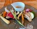【テイクアウト】いろいろ有機野菜のグリル トリュフドレッシング
