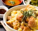 【テイクアウト】鶏唐玉子とじ丼