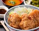 【テイクアウト】唐揚げ丼(ニンニク醤油)