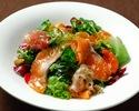 【テイクアウト/宅配】サーモンのマリネと海藻の健美サラダ