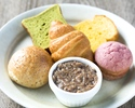 【テイクアウト/宅配】ポークリエット&5種のパン