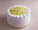 【デリバリー】5号(15cm)スーパーメロンショートケーキ ¥9,720(税込)