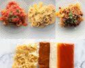 冷凍パスタソース3種+自家製タリアテッレ3食分(トマト/雲丹/ボロネーゼ)※真空冷凍※
