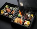 香港を味わうシェフおすすめ温冷二段重弁当 ¥10,000