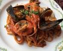 【TAKEOUT】リングイネ アッラ ペスカトーラ魚介のトマトソース Linguine alla Pescatora