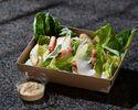 シーザーサラダ 鶏胸肉のグリルとベーコン パルメザンチーズ クルトン 1,296円(税込)