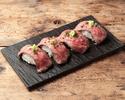 【テイクアウト】肉寿司 4P