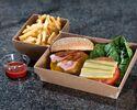 ハンバーガー フレンチフライ添え 2,484円(税込)