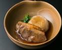【デリバリー】鴨ロースの治部煮 蓮根饅頭添え