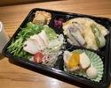 【テイクアウト】サラダうどん、天丼弁当 お椀付き