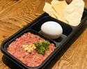 【デリバリー】馬肉のタルタルステーキセット