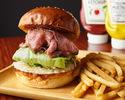 Matsusaka beef roast beef burger