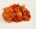 ロールキャベツと彩野菜のチキン煮込み弁当