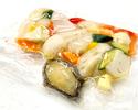 【テイクアウト】蝦夷アワビと野菜のマリネ