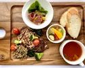 前菜とメインが選べるプリフィクスランチ