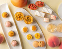 "【Peach & Mango Afternoon Tea】 Mango & Peach dessert featuring ""ART OF TEA"" from LA"