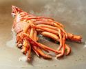 【鉄板焼きディナーメニュー】お肉と海老のコース ビーフステーキと海老をお愉しみいただけるコースです¥27,000~¥37,000
