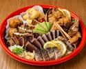 【テイクアウト】皿鉢盛り合わせ 3~4人前