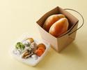 【TAKEOUT】②北海道産帆立貝のクリームシチューBOX