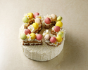 【デコレーションケーキ】セレブレイト 5号(直径 約15cm)