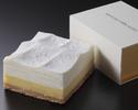 ダブルチーズケーキ【クラシック】クォーターサイズ(冷凍商品)