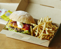 <Delivery>【Grilled Beef Burger (including french fries)】Andale-Gringo🍔🍟