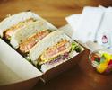 <Takeout・The Tavern>katsu sandwich 🥪