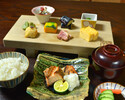 新ランチ【みやした定食】桜鱒炭火焼