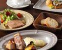 11月末まで特別価格【ディナー】季節のプリフィックスディナーWメインBコース