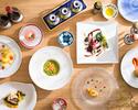 ディナーコースA¥5000(税・サ別)7皿+お茶菓子&カフェセット