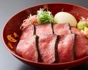 【昼】ローストビーフ丼