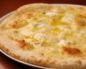 【テイクアウト特別価格】ピザ 5種のチーズピザ