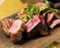 ブラックアンガス牛、薩摩錦鶏、イベリコ豚のグリル盛合わせ...900g