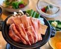 【平日限定】イベリコ豚すき焼き御膳+お刺身付き