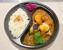 スパイスチキンと彩り野菜カレー