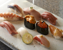 【Lunch Official Online Special】Sushi (10 pieces) with a complimentary welcome drink