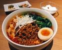 四川坦々刀削麺定食(ご飯追加無料)