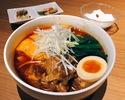 スペアリブ刀削麺定食(ご飯追加無料)