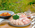 【お手軽BBQセット】豚ロース肉、鶏モモ肉など全4品+ホテルお任せ1品【早割14】